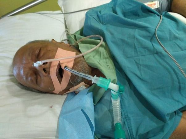 Help My Father Fight Battles In The ICU