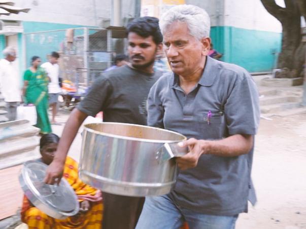 Help Venkatraman Bring IT Meals To Slums In Bangalore