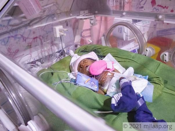 Help Shyamali and Devendra save their new born baby girl