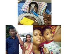 Help Sanjib's Bereaved Family Raise His Son & Survive.