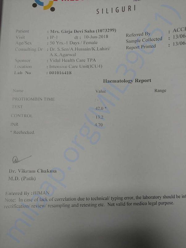 Her Report