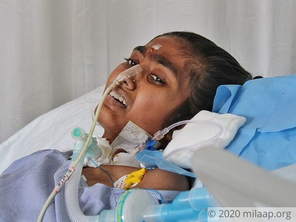 A Bike Accident Has Left This 16-Year-Old Girl Fight For Every Breath