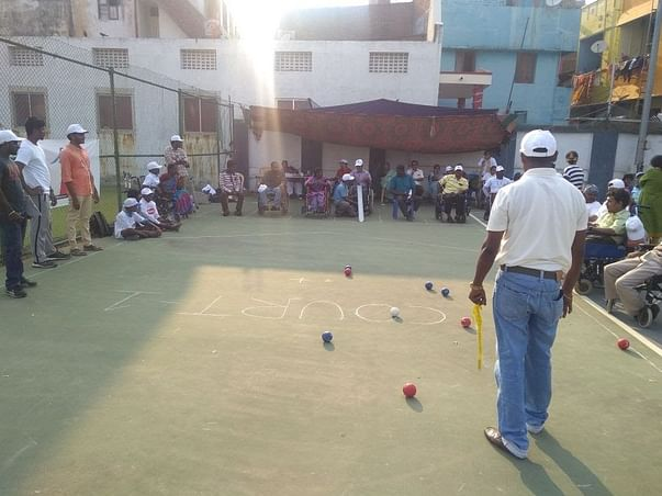 Help In Setting Up The Boccia Nationals for persons with disabilities