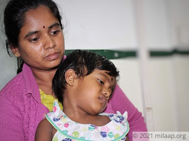 Instead of Joining Anganwadi, 3-year-old Cries At The Cancer Ward
