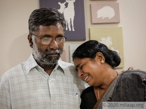 Auto Driver and Wife Have Hours Left To Save Their Son's Failing Liver