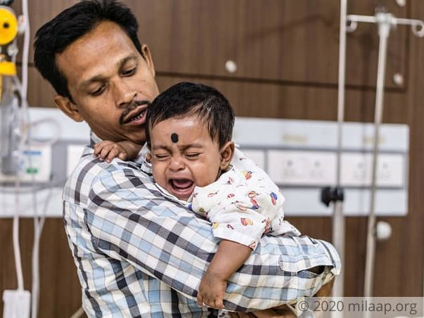 Helpless Farmer Has Nothing Left To Save His 7-Month-Old Baby