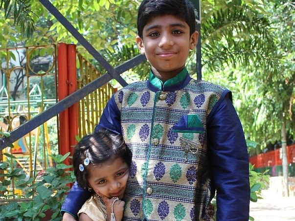 Help Kush Patel hear and speak.