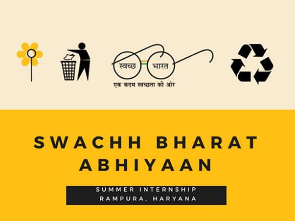 Swacch Bharat Summer Internship Program