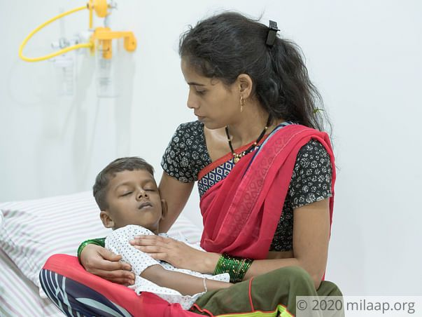 6-year-old Kedar cannot survive without a bone marrow transplant
