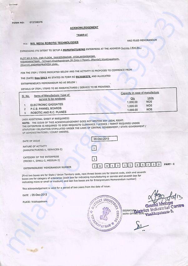 registration copy