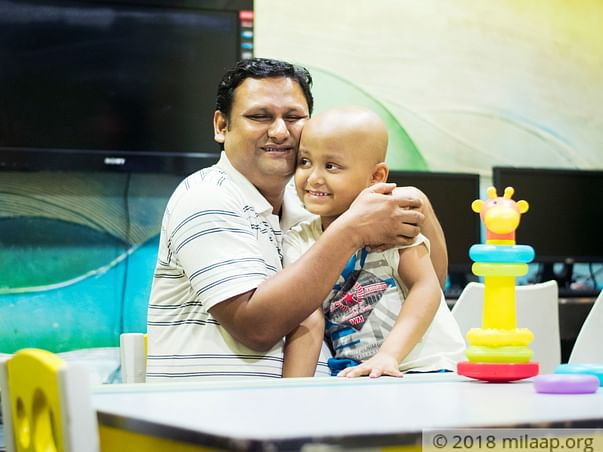 Blood cancer has numbed Dipanjan's entire lower body