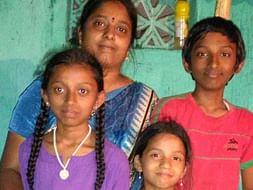 Help Usha Pay School Fees for Her Children.