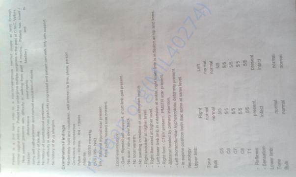 Medical document