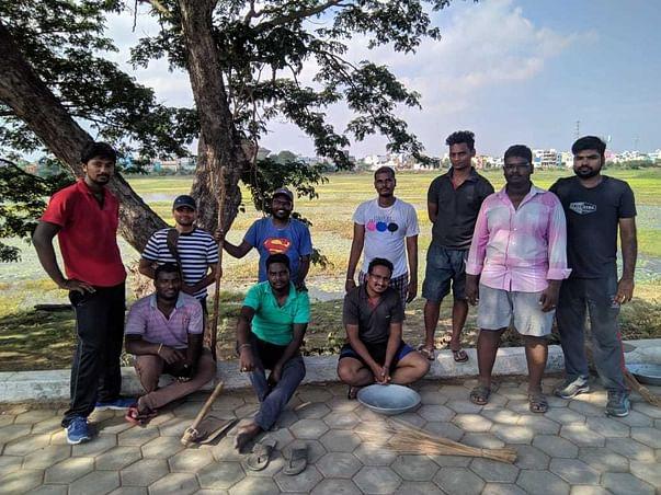 Kakkalur Lake Revival Project.