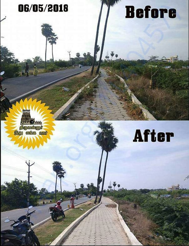 Footpath cleaning