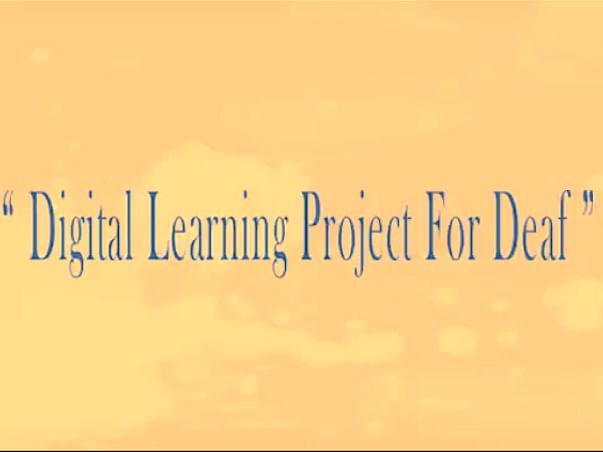 Digital Classroom With Indian Sign Language To Deaf Students