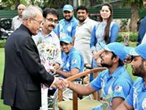 Support Wheelchair Cricket