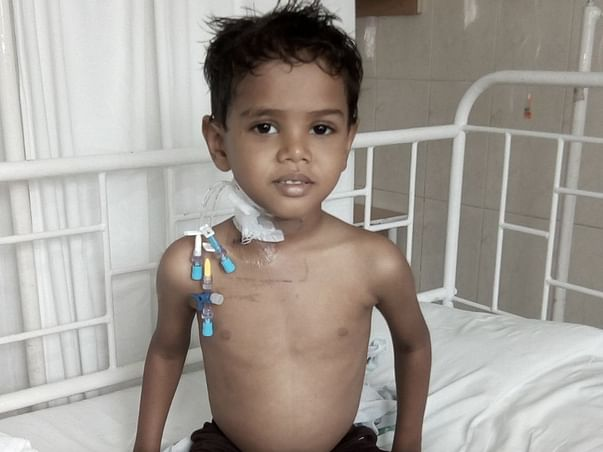 Help 4-year-old beat blood cancer by getting an urgent transplant
