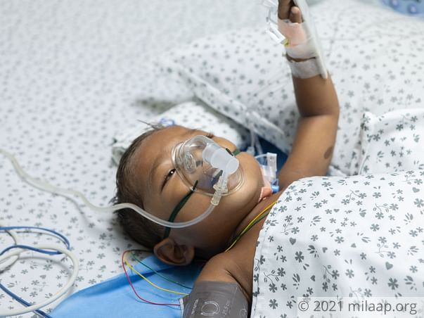 Farmer Cannot Afford ICU For His 4-year-old Who Has Enlarged Liver