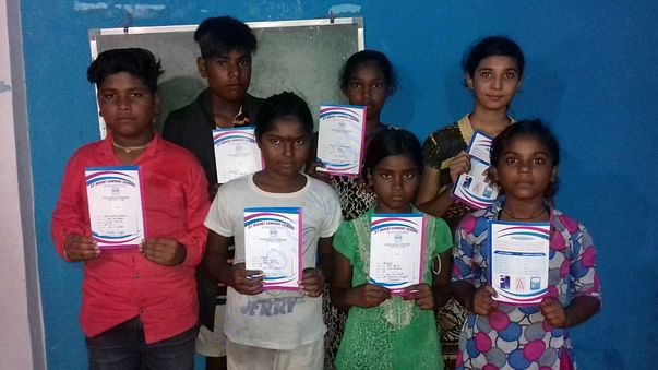 Our Childrens got good marks in examinations.(GANDHI NAGAR)
