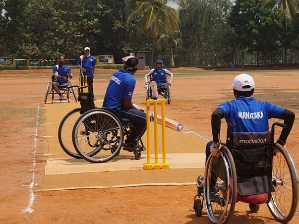 First South India Wheelchair Cricket Camp