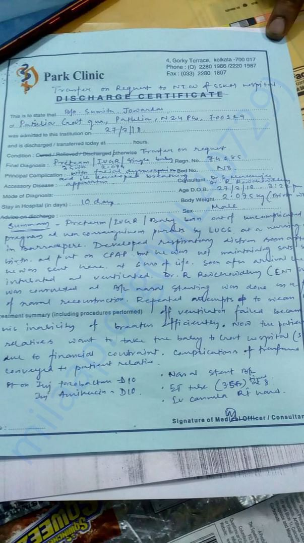 Park Clinic Document