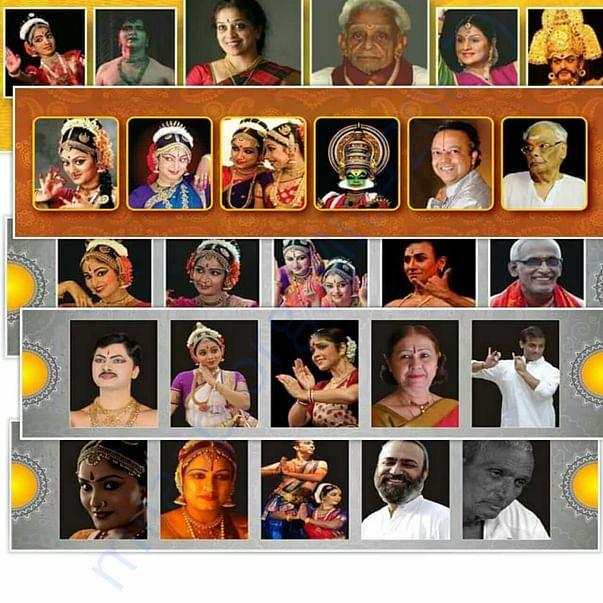 Natya Parampara Utsav last 4 editions Artists Performed and Honored