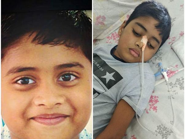 Help 8-year-old Ebenezar fight an aggressive brain tumor and live