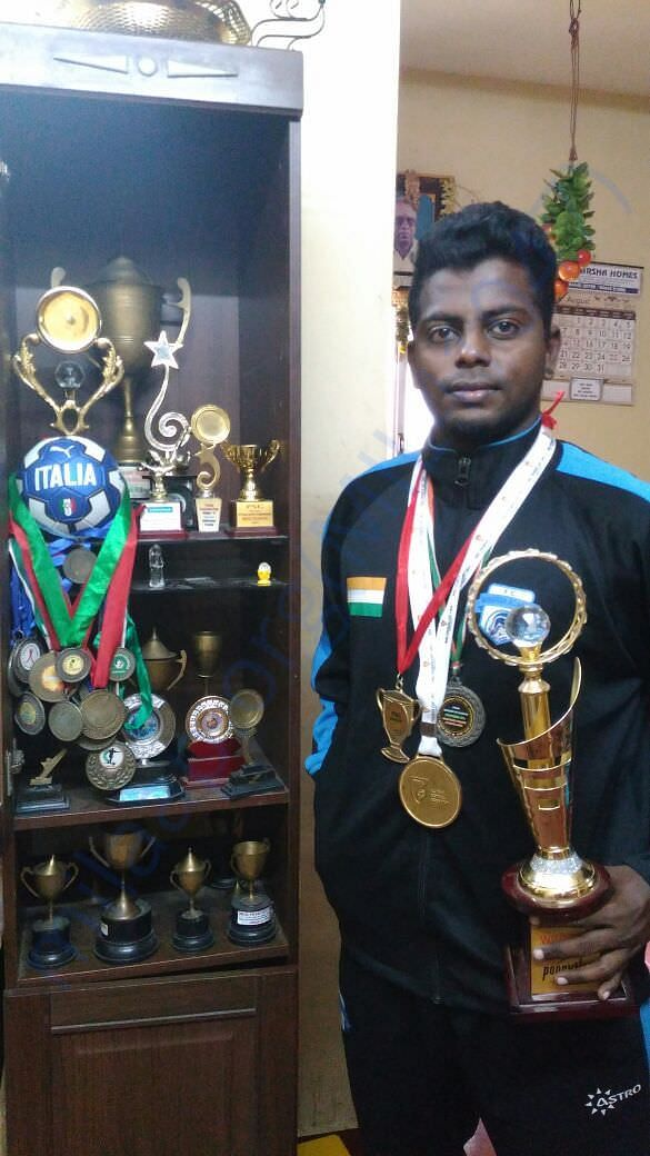 Player with the achievements