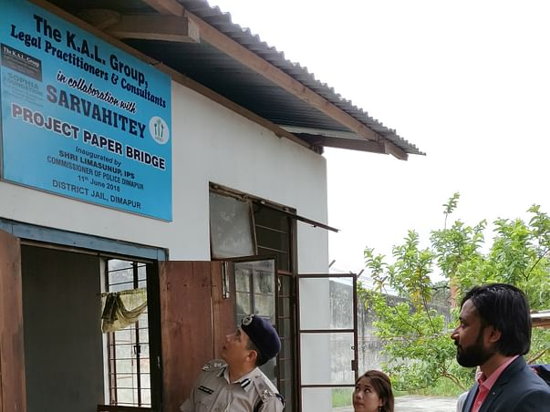 Help Us In Building Libraries In Nagaland
