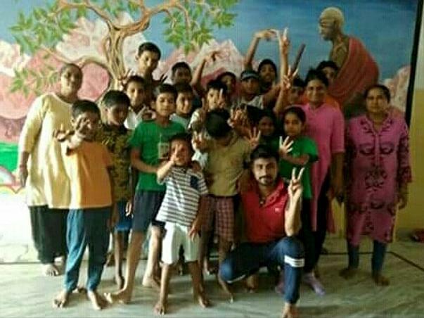 Help Aashray Care Home For HIV Children.