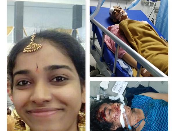 Help Swathi Who Met With A Road Accident