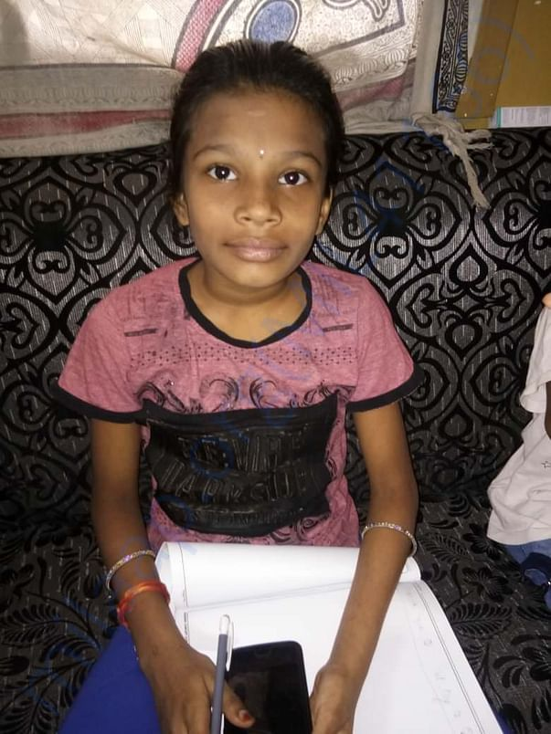 Akshaya before affected with Lupus