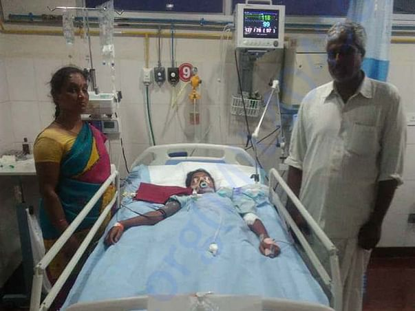 Help Sirisha Fight Accident