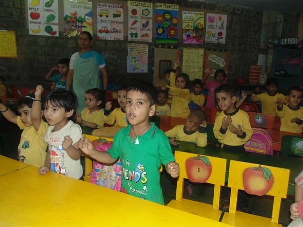 Palna Shishu Kendra Class room furniture for 50 underprivileged kids