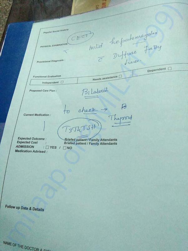 Raghavan's Medical Report II