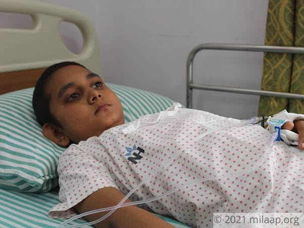 Help 10-year-old Yogananda fight aggressive blood cancer