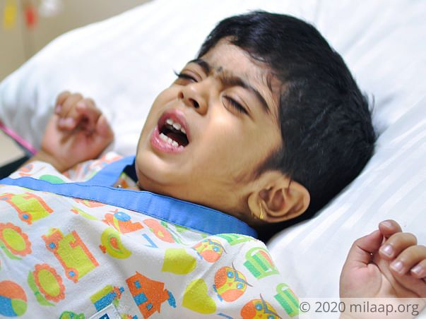Help 2-year-old Ayansh fight liver disease