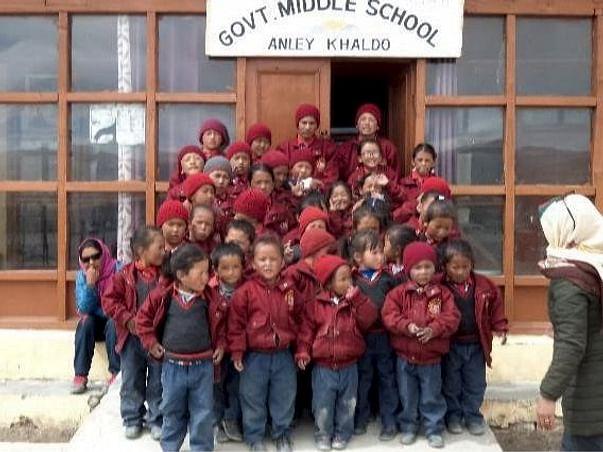Help Poor Kids Study In Hanle