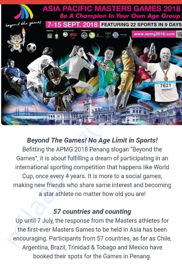 Asia Pacific Masters Games