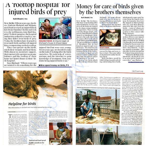 Newspaper & Magzines Coverage