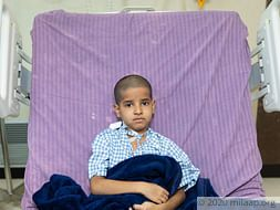 Cancerous Tumour Between His Heart And Lungs Will Kill This 9-Year-Old