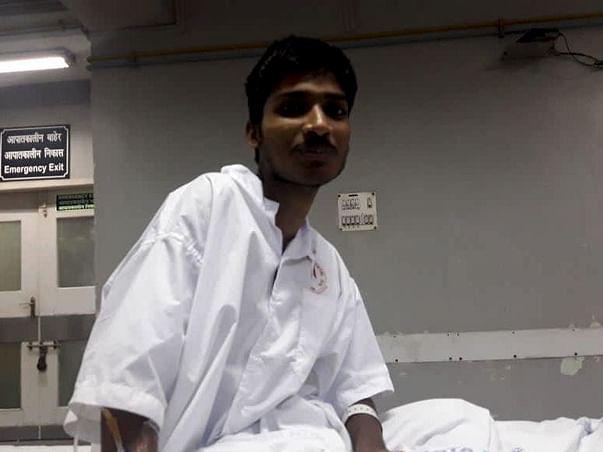 Help Tuhin who is struggling with Lymphoblastic Leukaemia