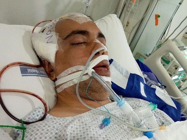 Help Rajesh Karia Who Is Fighting For Life.