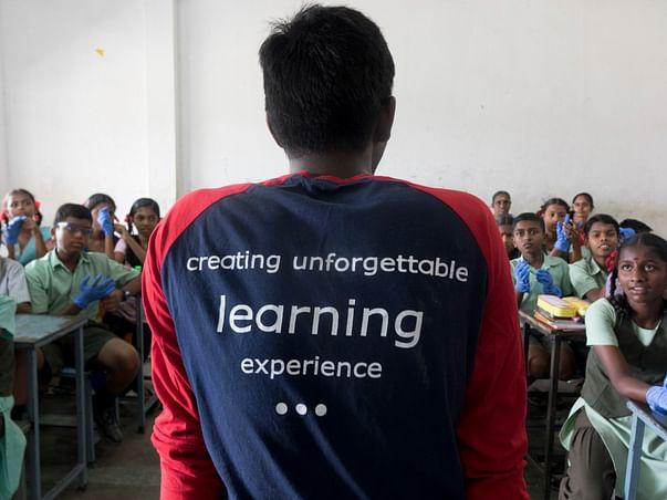 Science workshop for Govt School Tambaram