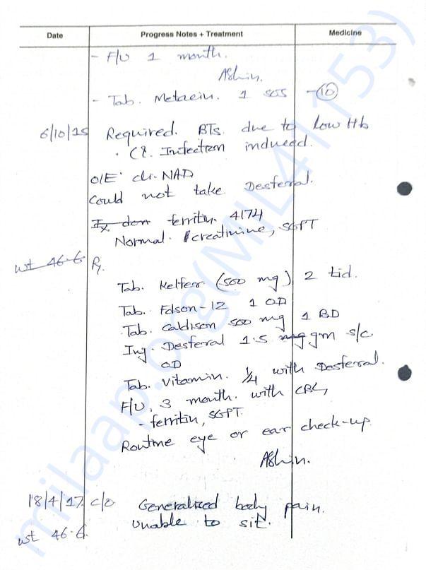 Treatment Description