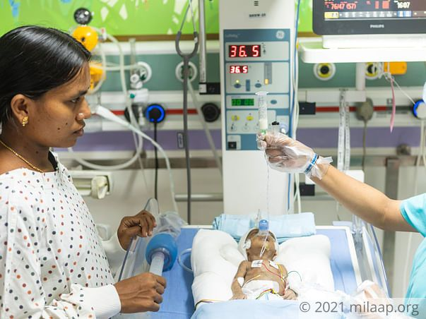 Severe Brain Infection Will Kill This 1-month-old Baby Girl