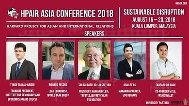Eminent Speakers at HPAIR Asia Conference