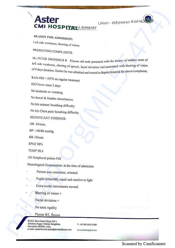 Clinical Summary