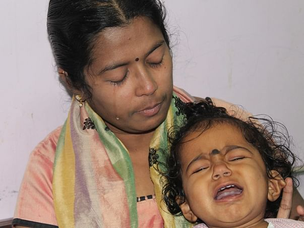 Arthritis Stricken Mother Struggles To Save Her 1-year-old Daughter